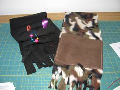 fidget scarves (fidgets in pocket)  for Autism sensory issues $15 from https://www.facebook.com/auntsandyssewing