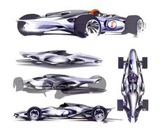 Honda Indy Concept - Design Sketches by Kimberly Wu