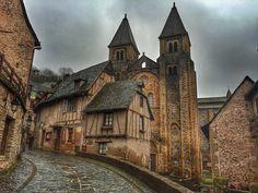Conques, probablemente el pueblo más bonito de Francia