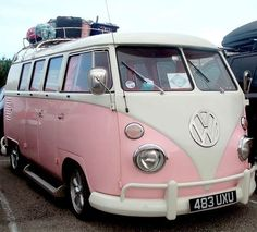 Pretty in pink Days like today have me longing for a pink camper. pack … Pretty in pink Days like today have me longing for a pink camper. turn on the Jack Johnson head north. Happier times in cooler climes. One of these Pink Vans Vw, Vw Camper Vans, Vw Routan, Vw T1, Volkswagen Vehicles, Vintage Volkswagen Bus, Volkswagen Beetles, Jack Johnson, My Dream Car