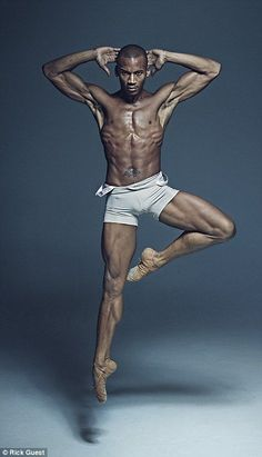 Eric Underwood is a Soloist at The Royal Ballet...