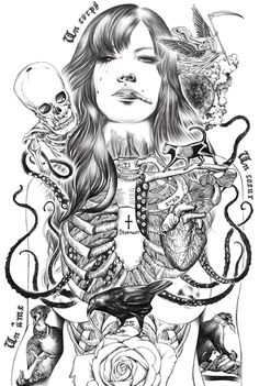 Addiction by Ise Ananphada, via Behance