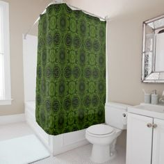 Rich olive green velvety roses flower photo shower curtain - rose style gifts diy customize special roses flowers