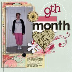9th Month - Weight loss - Scrapbook.com