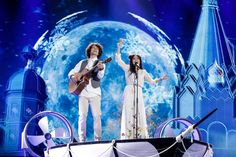 Last night the second dress rehearsal for the edition of the Eurovision Song Contest took place in Kyiv's International Exhibition Centre. The second dress rehearsal or as it is . Eurovision 2017, Dance Routines, Rehearsal Dress, Semi Final, Finals, Photo Galleries, Songs, Concert, Centre