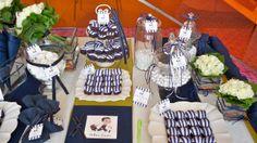 #στολισμος βαπτισης buffet γλυκων σε μπλε ναυτικό