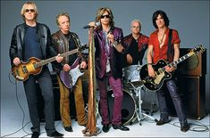 Aerosmith - were blown off the stage by KISS the night I saw them