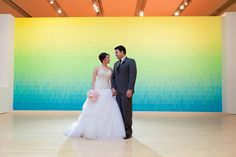 Angela + Chris: Phoenix Art Museum Wedding