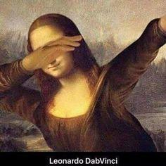 dab, monalisa, and mona lisa image Memes Arte, Classical Art Memes, History Memes, Art History, Le Dab, Art Fauvisme, Mona Lisa Parody, Mona Lisa Smile, Jeff The Killer