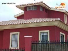 """#hogar LAS MEJORES CASAS DE MÉXICO. Una de las mejores pinturas para el exterior del hogar, es la llamada """"al cemento"""", la cual es muy resistente al desgaste por lluvia, sol o viento y debe aplicarse a superficies rugosas, para que se adhiera sin ningún problema. Este tipo de pintura se compra en polvo y se mezcla con agua. En Grupo Sadasi, al comprar su casa en nuestros desarrollos, está adquiriendo un patrimonio de vida seguro. informes@sadasi.com"""