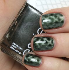 """Essie- Crocadilly (magnetic """"snakeskin effect"""" polish)  Magnet included.  $5"""