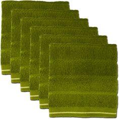 6 pack of kitchen dishcloths $12