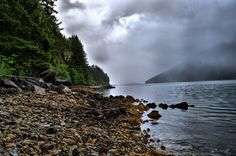 Spent the summer working in a fishing cannery in Excursion Inlet, Alaska