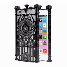 PC Plastic Hollow Design Phone Cases for iPhone 6 Cover Luxury Diamond Building Celular Capas for Apple iphone 6 case 4.7 inch