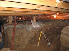 14 best crawl spaces images crawl spaces crawl space repair rh pinterest com
