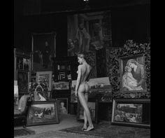 Jeanloup Sieff, Nu pompier, 1956