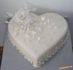 Dort marcipánový * srdce - svatební
