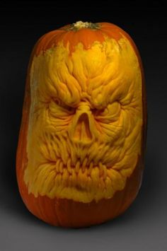 Pumpkin carving by Gabe Vinas