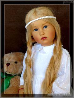 Коллекционная кукла KAROLINE от Sissel Bjorstadt Skille, Gotz: часть 2 / Коллекционные куклы Sissel Bjorstadt Skille / Бэйбики. Куклы фото. Одежда для кукол
