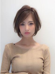 Pin by Aya on ヘアアレンジ in 2020 Japanese Short Hair, Asian Short Hair, Kawaii Hairstyles, Bob Hairstyles, Pixie Haircut For Thick Hair, Shot Hair Styles, Girls Short Haircuts, Hair Arrange, Aesthetic Hair