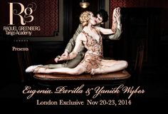 We proudly present for the first time in London Eugenia & Yanick! Eugenia Parrilla and Yanick Wyler are one of the most innovative and profound dance couples of our time! Performances and workshops only at Raquel Greenberg Tango Academy https://www.facebook.com/events/717886694925714/