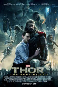 When he was asked to pose like Natalie Portman in the Thor 2 poster, he obliged and it was perfection. | 29 Reasons We Fell In Love With Tom Hiddleston In 2013