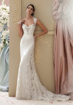 David Tutera for Mon Cheri 115229 Lourdes Wedding Dress - The Knot