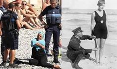policing female swimwear - now and then (when?)