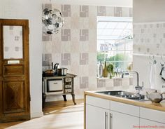 grey Bathroom Decorating Wallpaper For 2014
