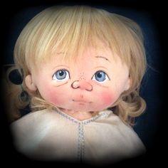 Little Miss Muffet ooak by doll artist Jan Shackelford