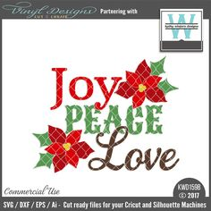 Sold By Kathy Winters DesignsSmall business commercial useAvailable in SVG, DXF, EPS, and Ai formats.Works in Cricut Design Space andSilhouette Studio Basic,Silhouette Designer Edition andSilhouette Business Edition Scrapbook Titles, Scrapbook Cards, Scrapbooking, Lettering Design, Hand Lettering, Love Joy Peace, Christmas Templates, Silhouette Machine, Christmas Cards