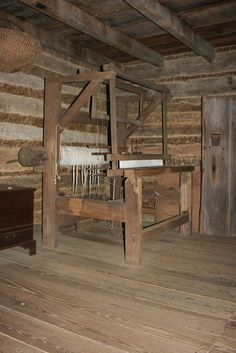 Colonial Weaving Loom