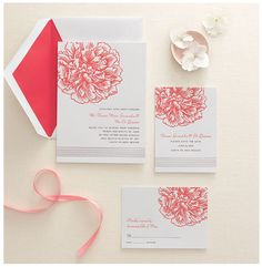 wedding invitations from Crane & Co.