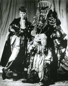Startling & Sometimes Creepy Behind the Scenes Photos from David Bowie's Labyrinth - The World of Kitsch