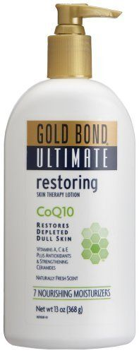 Gold Bond Ultimate Restoring Lotion, With Coq10, 13- best lotion I have ever tried...