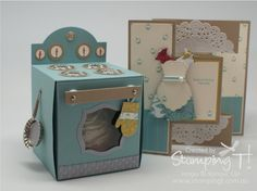 Stamping T! - Cupcake Oven and Card