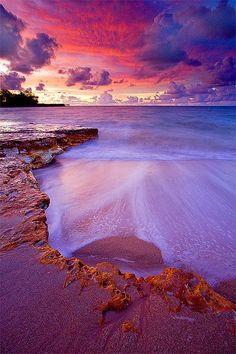 Nightcliff Beach lit up after sundown, Australia | A1 Pictures