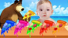 Learn Colors with Pizza - Colors for Kids to Learn Finger Family Songs f...
