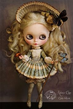 Lady Adelle by Rebeca Cano ~ Cookie dolls https://www.facebook.com/CookieDolls