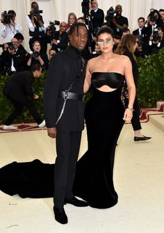 Kylie Jenner and Travis Scott Make Their Fashion Event Debut at the 2018 Met Gala