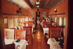 Sleep or eat in a century old rail car at the Train Station Inn in Tatamagouche. Rail Car, Stupid Stuff, Nova Scotia, Train Station, The Locals, Places To Go, Travel, Viajes, Trips