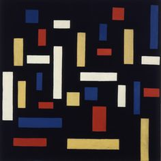 Theo van Doesburg - Composition VII (The Three Graces) - 1917     I have a poster of this!