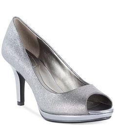 7191b6c62590 Bandolino Supermodel Platform Pumps - Pumps - Shoes - Macy s Silver Wedding  Colours