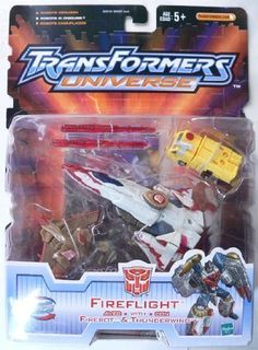 Transformers Universe Fireflight Firebot  Thunderwing Figure Set >>> You can get additional details at the image link.Note:It is affiliate link to Amazon.
