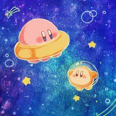 UFO Kirby rocks and Waddle Dee is so cute