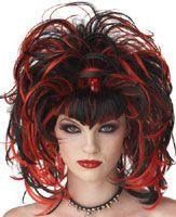 Nightmare Black Widow Wig