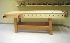 Heavy duty cabinetmaker's benches