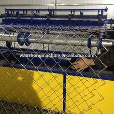 automatic chain link mesh making machine