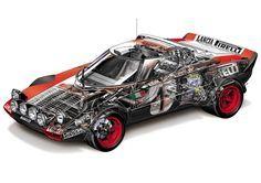 Cutaway, Sport Cars, Race Cars, Car Illustration, Car Posters, Unique Cars, Car Drawings, Car Images, Rally Car