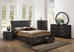 Magnifique Furniture - Lyric Eastern King Sleigh Platform Bed 1737KNGY-1EK, $579.00 (http://www.magnifiquefurniture.com/lyric-eastern-king-sleigh-platform-bed-1737kngy-1ek/)